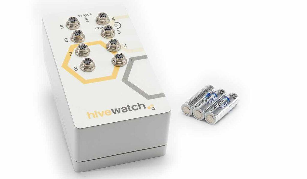 transmisor de la balanza digital para colmenas de Hivewatch